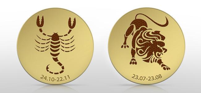 skorpion löwe