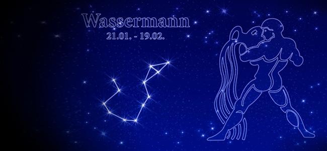 Sternzeichen Wassermann Horoskop