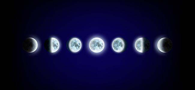 Mond in den Häusern